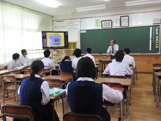 緑丘中学校上級学校説明会 | 鹿児島県立蒲生高等学校